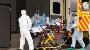 Wani majinyaci da ke fama da cutar coronavirus a Italiya