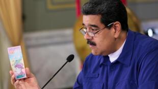 El presidente de Venezuela anuncia medidas para superar la crisis económica.