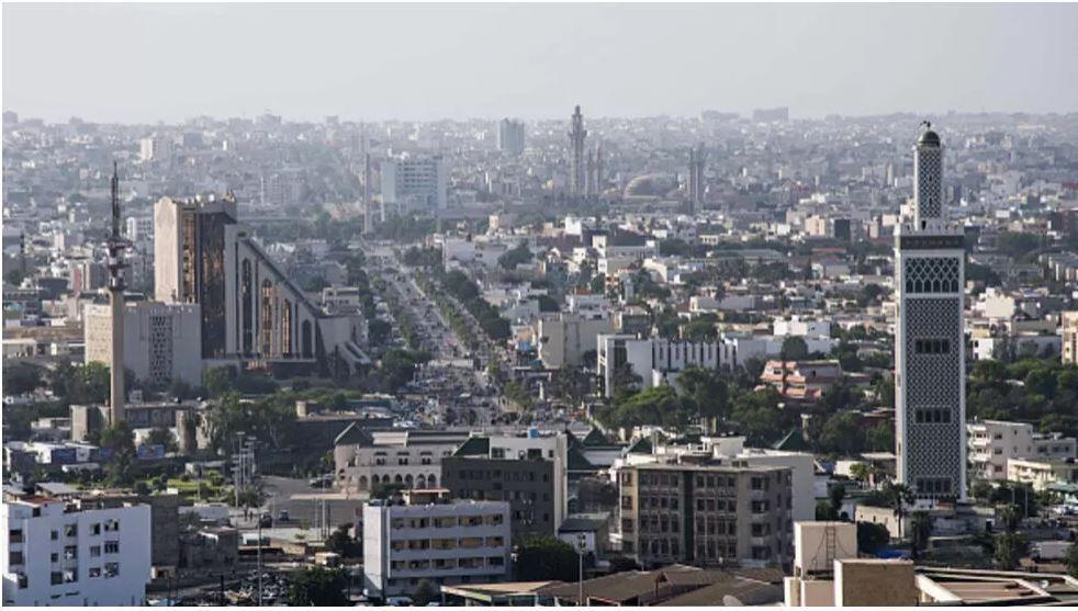 Image RFI Archive : Vue aérienne de la ville de Dakar (Photo d'illustration).
