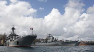 Корабли российского ВМФ будут патрулировать в Средиземном море