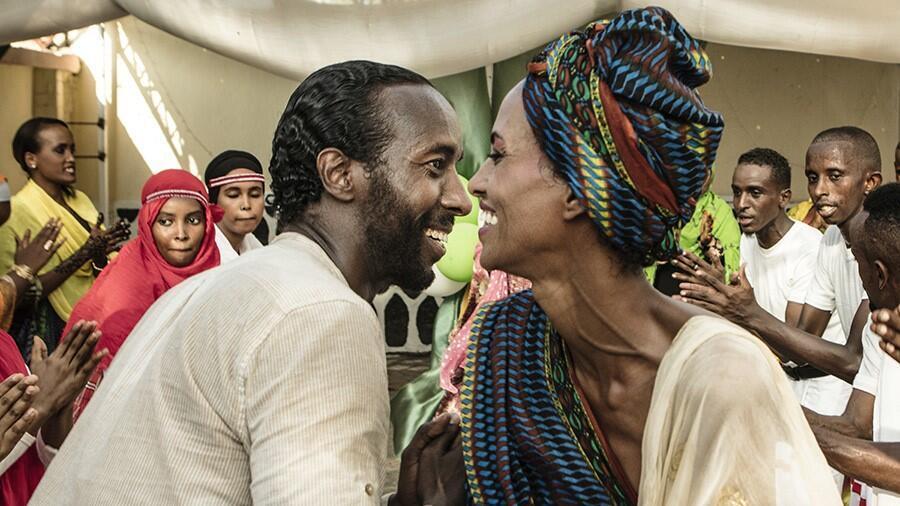 « The Gravedigger's Wife » (La Femme du fossoyeur), de Khadar Ayderus Ahmed, présenté en première mondiale au Festival de Cannes 2021, à la Semaine de la Critique.