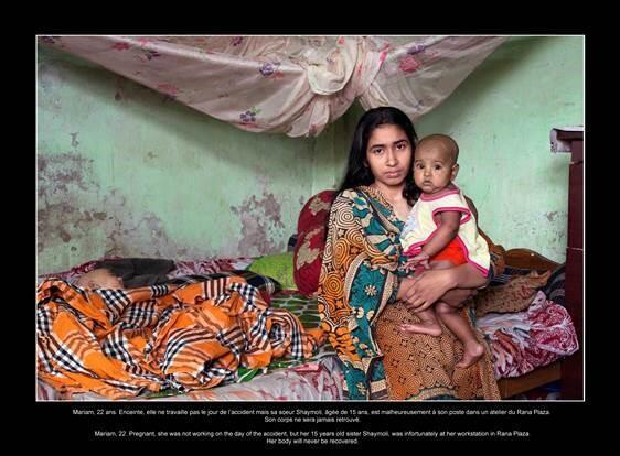 Jean François Fort, photographe indépendant qui grâce à l'aide de l'ONG Bangladaise Gonoshastaya Kendra a pu rencontrer les rescapées de cette catastrophe.