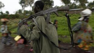 Un soldat des FARDC.