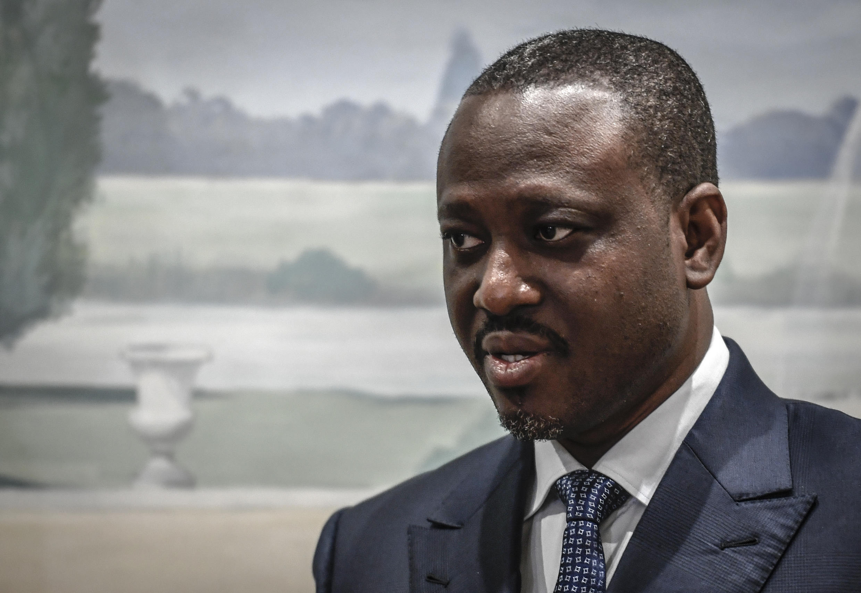 Guillaume Soro, ex primer ministro de Costa de Marfil durante la presidencia de Alassane Ouattara y ex líder rebelde, el 17 de septiembre de 2020 en París