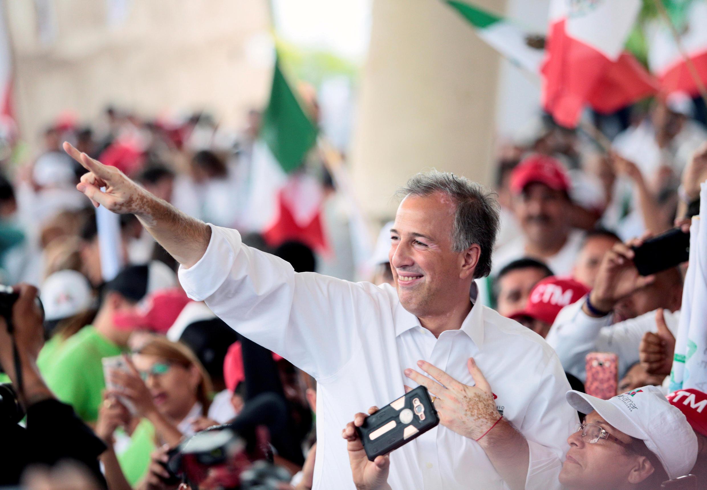 Les élections de dimanche s'annoncent difficiles pour le candidat du PRI, José Antonio Meade.
