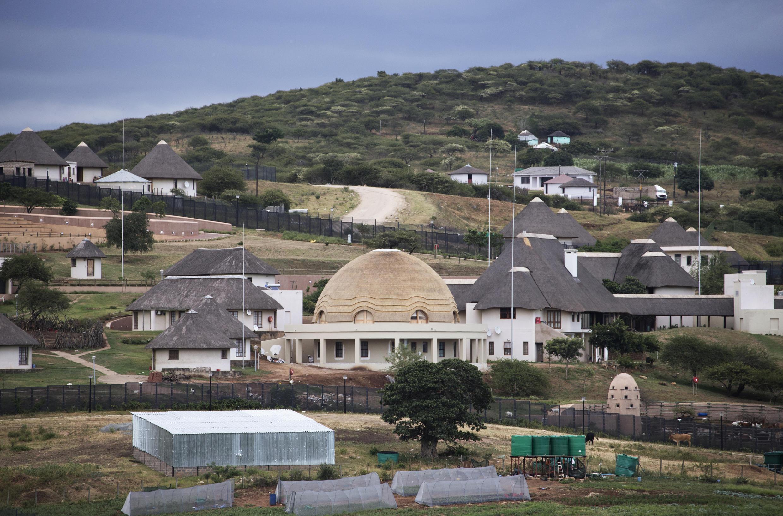 La résidence secondaire du président Jacob Zuma à Nkandla au coeur du scandale en Afrique du Sud.