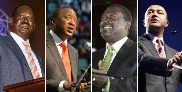 Wagombea wa Urais nchini Kenya ambao wameshaanza kukumbwa na hofu ya kuibiwa kura kwenye Uchaguzi baadaye mwezi Machi