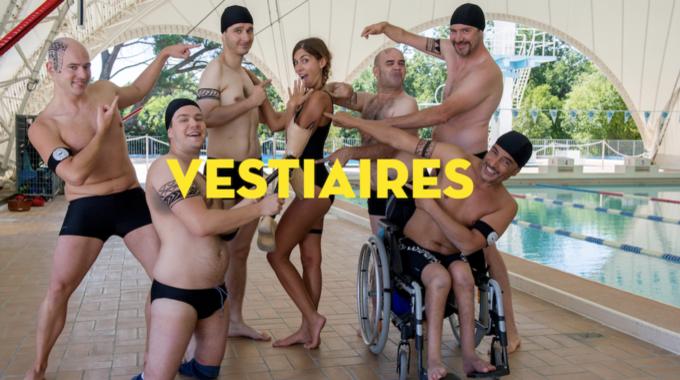'Vestiaires', un club de deportistas discapacitados con mucha chispa.