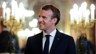 法国总统马克龙2018年7月26日马德里
