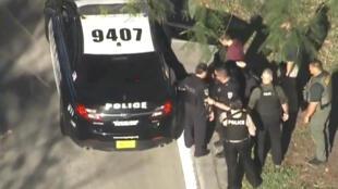 Bắt giữ nghi phạm vụ xả súng tại trường trung học Parkland, Florida, ngày 14/02/2018.
