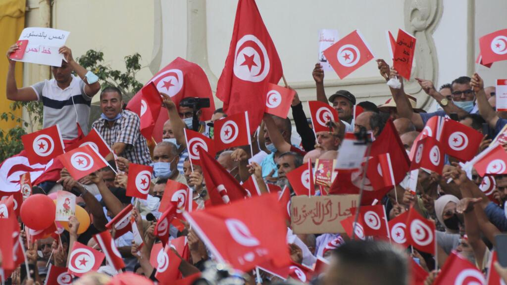 Tunisie: nouvelles manifestations contre le coup de force du président Kaïs Saïed