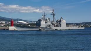 وزارت دفاع تایوان طی بیانیه ای اعلام کرد که دو کشتی آمریکایی روز چهارشنبه ٢٢ مِه/اول خرداد، از شمال غربی تنگۀ تایوان عبور کرده اند.