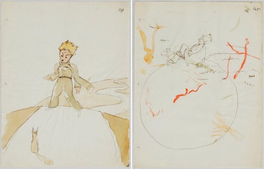 Во Франции первое издание «Маленького принца» увидело свет в 1946 году.