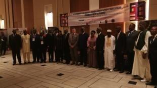 9e conférence des grandes chancelleries d'Afrique francophone subsaharienne et de France, à Brazzaville, le 30 juin 2019.