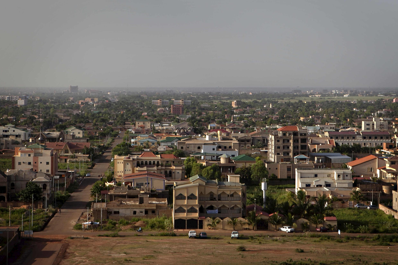 Vue générale de la capitale du Burkina Faso, Ouagadougou.