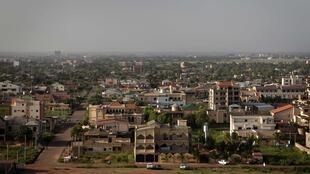 Vue générale de la capitale du Burkina Faso, Ouagadougou (Photo d'illustration).