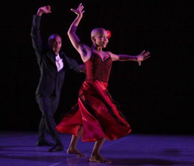 La chorégraphe sud-africaine, Dada Masilo, interprète Carmen.