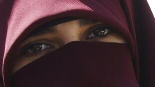 Une militante des Frères musulmans, le 13 septembre dernier au Caire.