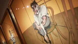 Le tryptique de Francis Bacon, vendu aux enchères pour 142,4 millions de dollars à New York, en novembre 2014.