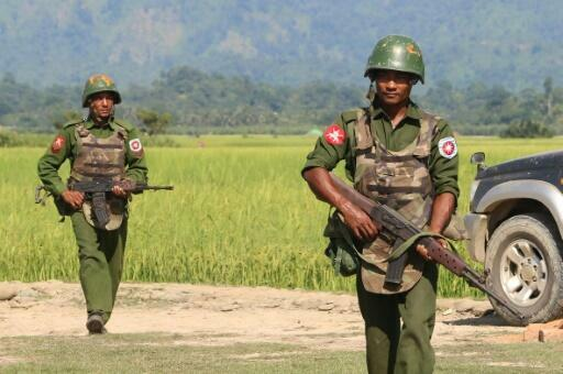 The Myanmar army has long been engaged in controversial operations in Rakhine state, with hundreds of thousands of Rohingya Muslims forced into Bangladesh by a bloody army crackdown in 2017