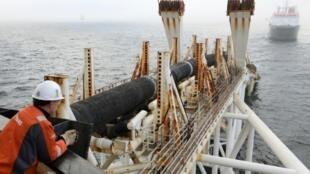 عملیات لوله گذاری دریائی طرح نورداستریم ٢