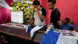 Một sinh viên thiệt mạng trong cuộc đối đầu với cảnh sát ngày 14/07/2018 tại Managua.
