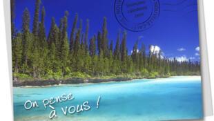 Tấm bưu thiếp vẫn được dùng để gởi cho người thân, bạn bè từ những nơi nghỉ mát xa xôi.