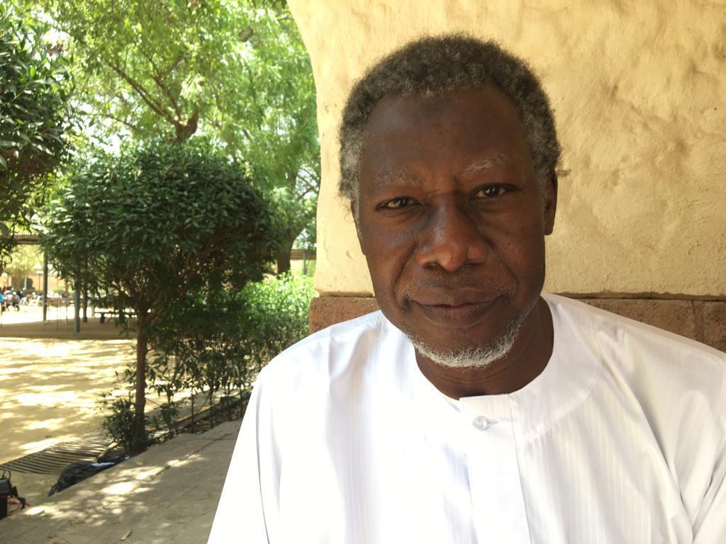 Mahamat Nour Ibedou, Secrétaire Général de la Convention Tchadienne pour les Droits Humains - CTDDH.