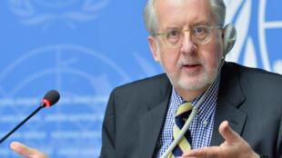 Paulo Pinheiro  رئیس کمیسیون تحقیقات سازمان ملل متحد دربارۀ حقوق بشر در سوریه