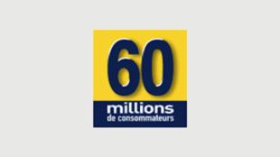 Le logo du magazine «60 millions de consommateurs».