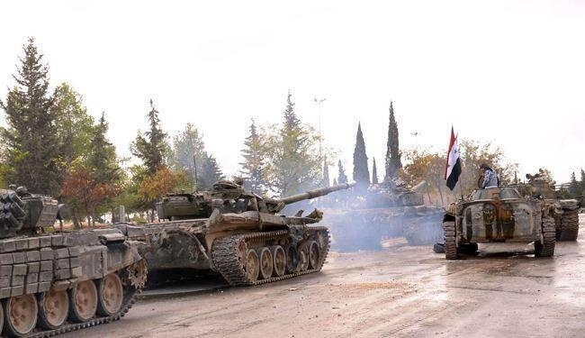 Vifaru vya jeshi la Syria