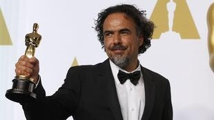 Alejandro Gonzalez Inarritu, with an Oscar award in his hand, is the first Mexican to chair the jury at the Cannes Film Festival.