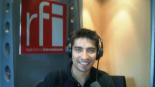 Diego Urbina en RFI.
