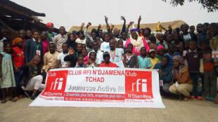 Le club RFI NDjaména au Tchad.