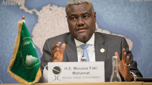 Moussa Faki Mahamat, Chairman of the African Union Commission