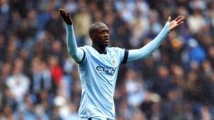 Yaya Touré, mchezaji nyota wa Côte d'Ivoire, ambaye ni miongoni mwa wachezaji 23 waliyoteuliwa na Fifa kwa kuwania tuzo la mpira wa dhahabu 2014..