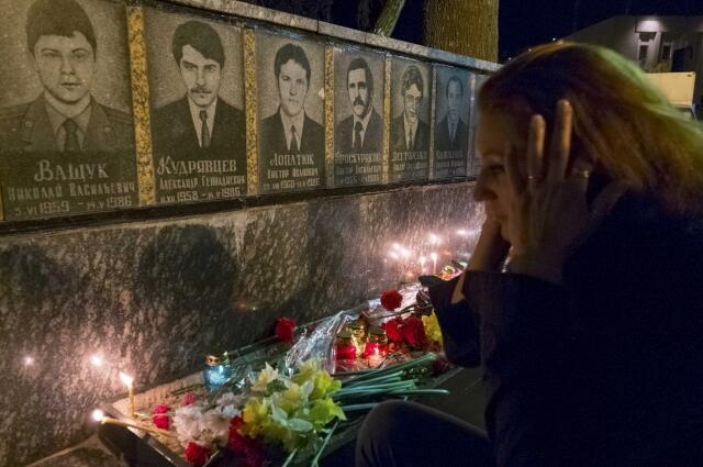Мемориал в Славутиче 25/04/2013