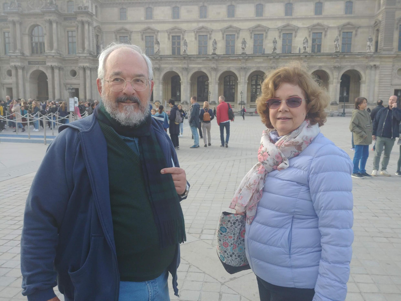Cláudio e Gilda Violato, de Campinas, desistiram de entrar na mostra