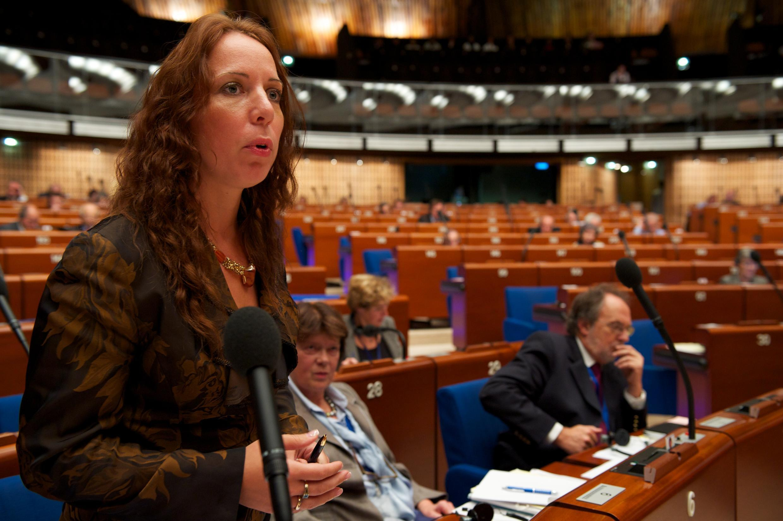 Содокладчик по Украине Майлис Репс (депутат от Эстонии).