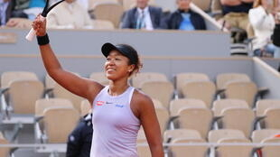 Naomi Osaka won her first match on centre court at the 2019 French Open.