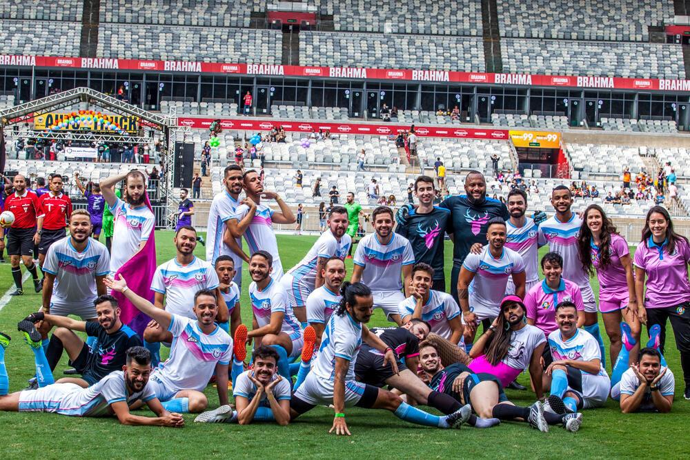 Time de futebol gay de Belo Horizonte, o Bharbixas