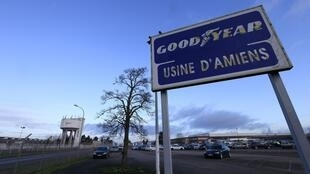 Goodyear plant at Amiens