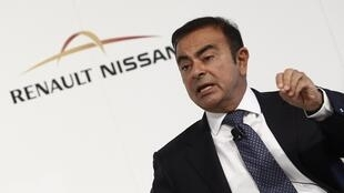 Carlos Ghosn, PDG du groupe Renault.