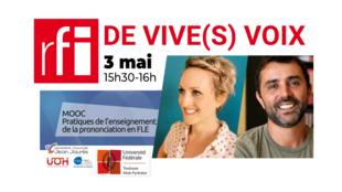 Le Mooc «pratiques de l'enseignement de la prononciation en FLE» commence le 3 mai 2021.
