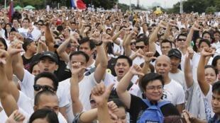 Manille, le 26 août 2013.