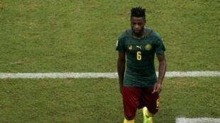 Le Camerounais Alexandre Song lors du Mondial 2014.
