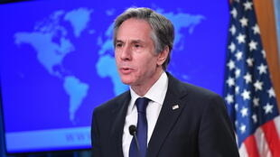 "US Secretary of State Antony Blinken, speaking in March 2021, has called on Israel to ensure ""equal"" treatment of Palestinians"