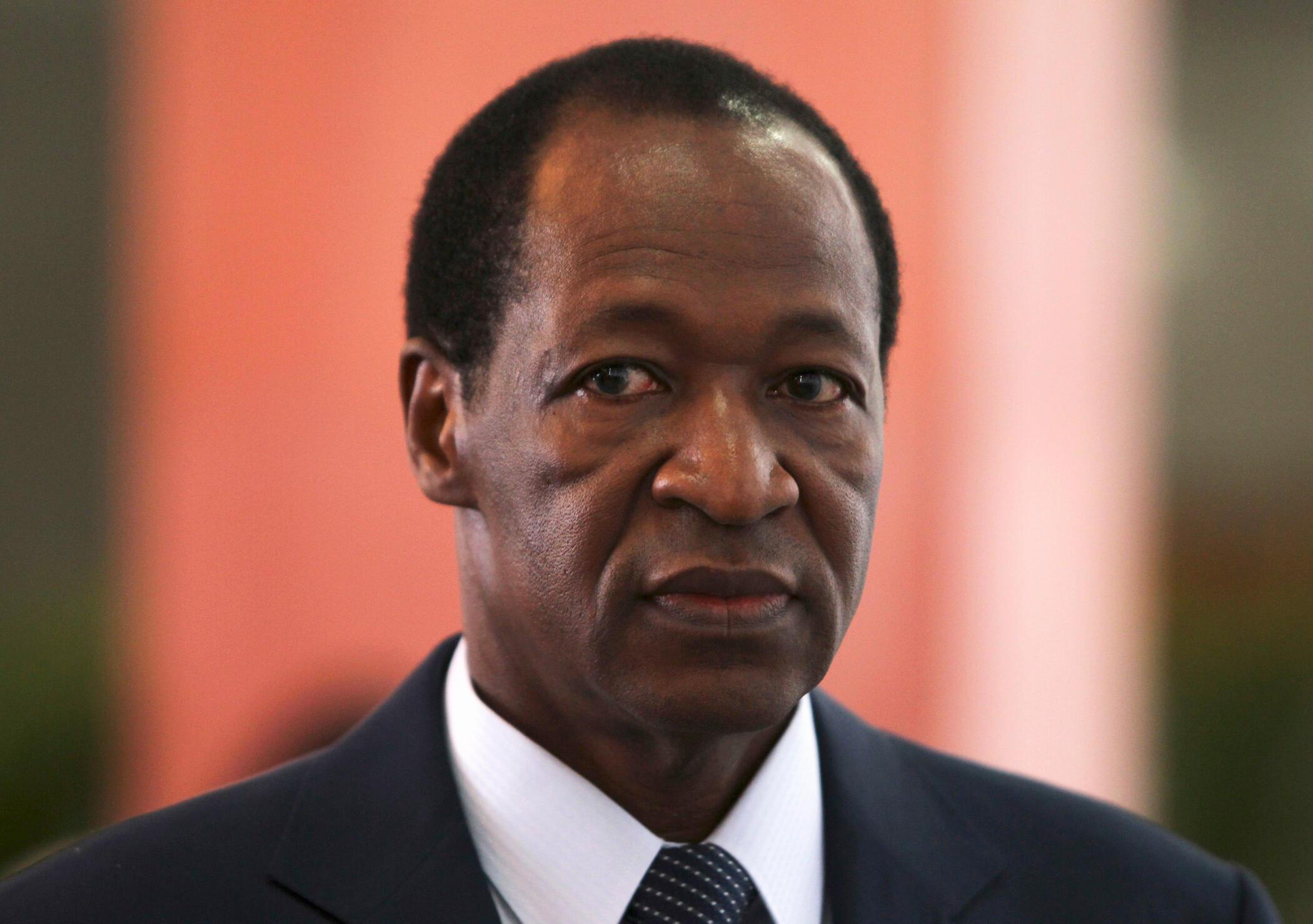 Blaise Compaoré, le président burkinabè.