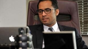 Mohammed Dewji à son bureau, le 23 avril 2015 (image d'illustration).
