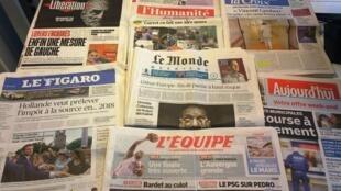 Diários franceses 12/06/2015